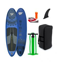 """STX Storm Freeride 9'10"""" Blue 2020 Inflatable SUP"""