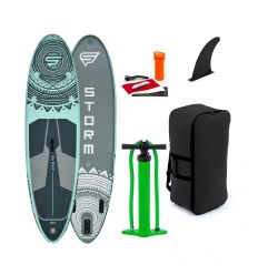 "STX Storm Freeride 9'10"" Aqua 2020 Inflatable SUP"