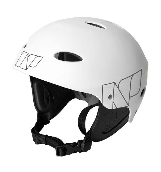 NP Helmet (white, green, red)