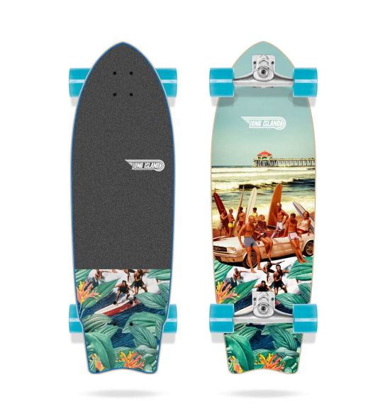 "Long Island Pier 31"" Surfskate"