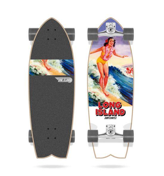 "Long Island Aloha 30"" Surfskate"