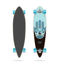 "Long Island Raise Essential 40"" Pintail Longboard Complete"