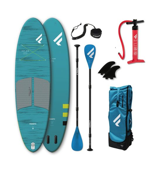 """Fanatic Fly Air Pocket 10'4"""" 2021 Inflatable SUP Package"""