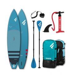 "Fanatic Ray Air 12'6"" Blue 2021 Inflatable SUP package"