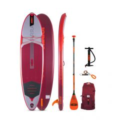 """Jobe Yarra 10'6"""" Red 2021 Inflatable SUP Package"""