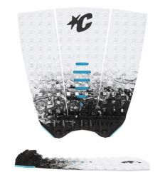 Creatures of Leisure Mick Fanning White Fade Black traction pad