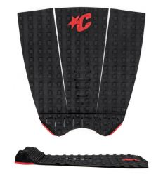 Creatures of Leisure Mick Fanning Lite Black Red traction pad