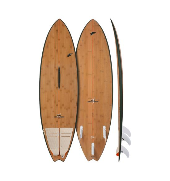 F-One Mitu Pro Bamboo 2022 Kite surfboard