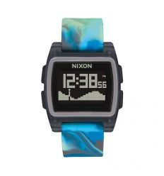 NIXON Base Tide 38mm Blue Jellyfish