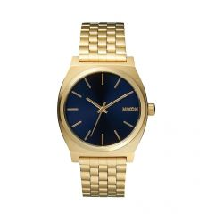 NIXON Time Teller 37mm All Light Gold / Cobalt