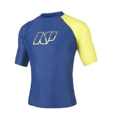 NP Men's Rashguard S/S Navy Lime